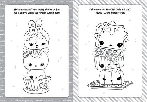Num Noms Series 2 Coloring Pages Coloring Pages Coloring Pages Num Noms