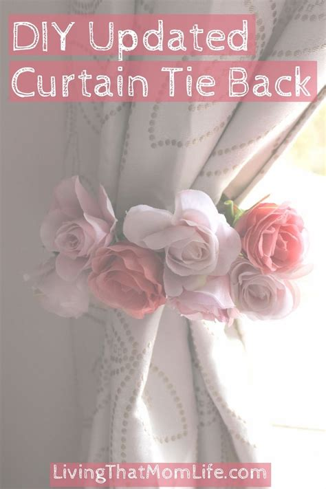 diy curtain tie back ideas 25 best ideas about curtain ties on pinterest diy