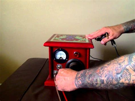 tattoo machine losing power custom tattoo power supply may2012 youtube