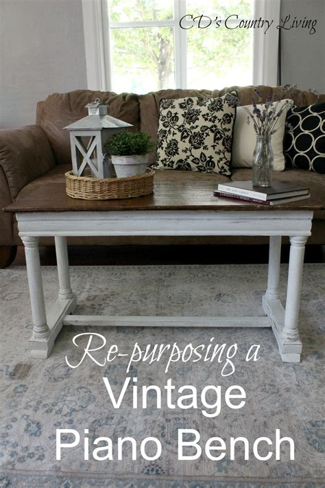 vintage piano bench re purposing a vintage piano bench