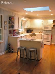 before amp after diy kitchen island makeover curbly design amazing space saving small designs