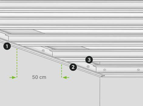 Faux Plafond Placo Autoportant by Comment R 233 Aliser Un Faux Plafond Acoustique Leroy Merlin
