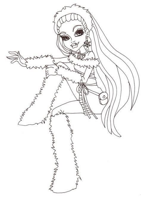 monster high movie coloring pages monster high characters to print coloring home