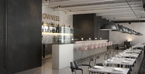 Industrial Kitchen Furniture Cafe Nowness Interior Amp Architecture Mindsparkle Mag