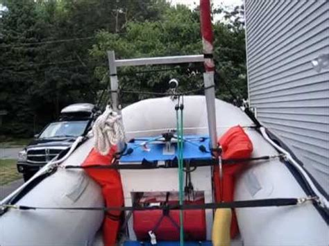 inflatable fishing boat mods inflatable boat mods youtube