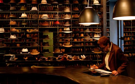 step inside optimo a chicago hat store travel leisure