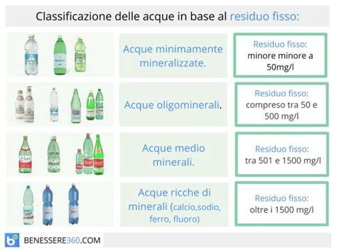 acqua rubinetto in gravidanza residuo fisso nelle acque minerali cos 232 e perch 232 fa