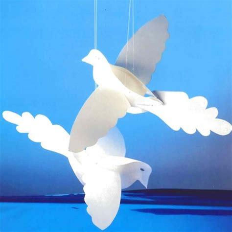 Paper Dove Craft - paper doves craftbnb