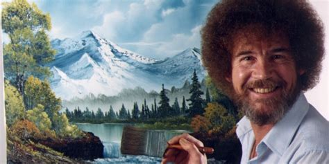 bob ross happy painter bob ross the happy painter wttw