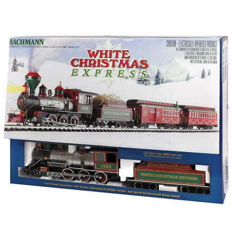 bachmann trains ready to run white christmas express g