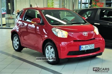 2011 toyota iq 1 0 with air conditioning navigation car photo and specs