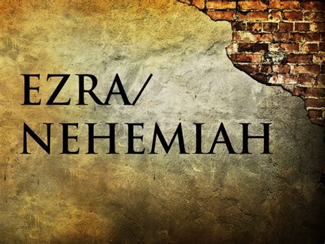 ezra and nehemiah the two horizons testament commentary thotc books heartland baptist church sermon series