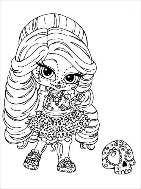 monster high coloring pages online get this chibi coloring pages free to print nu02m