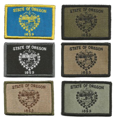 state tactical patches 2 quot x3 quot oregon state tactical patches