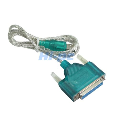 Cable Paralel Printer 1 5m usb to printer db25 25 pin parallel port cable adapter ebay