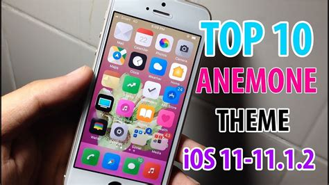 anemone electra top 10 anemone themes ios 11 11 1 2 electra youtube