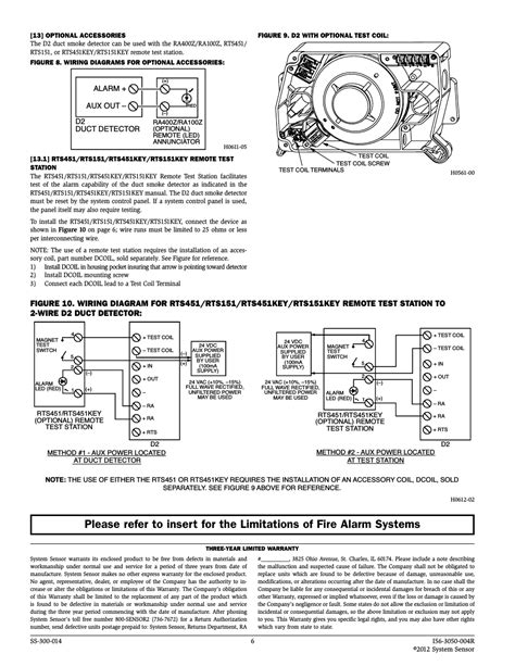 system sensor duct detector wiring diagram 42 wiring