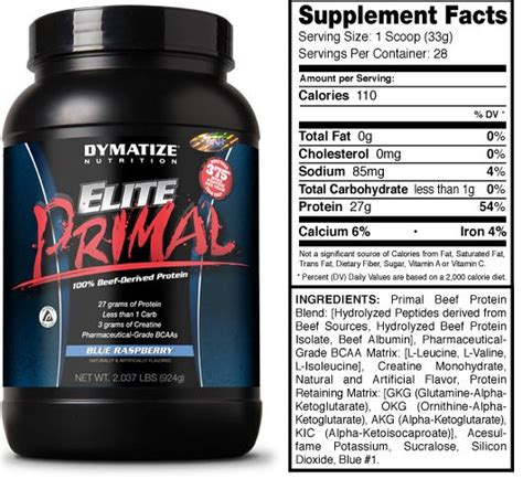 Ronnie Cole King Beef 4 Lbs by Suplemen Beef Protein Elite Primal Jual Suplemen Fitness