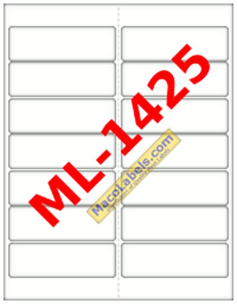 maco label template ml 1425 macolabels