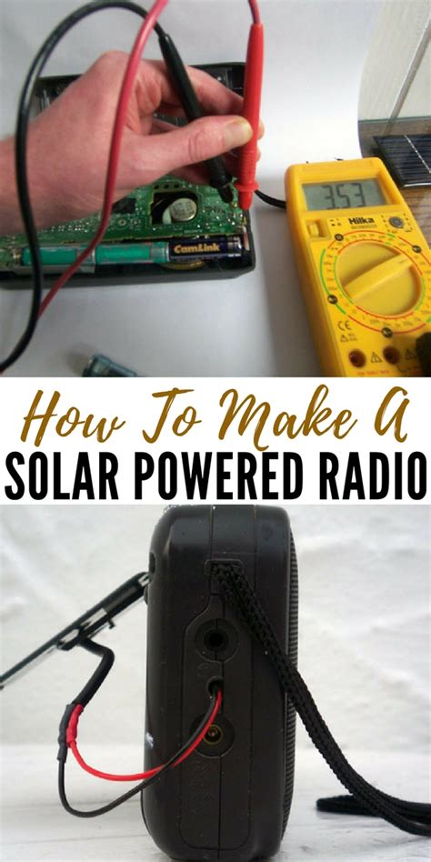 how to make solar powered lights how to make a solar powered radio