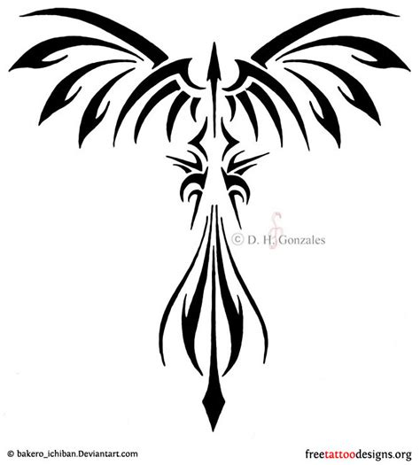 phoenix tribal tattoo designs tattoos 75 cool designs