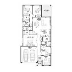 narrow sloping lot house plans single level living 1000 images about single storey floor plans narrow lot on pinterest perth floor plans and