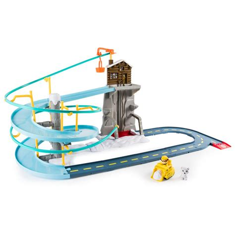 Mainan Track Paw Patrol Rescue Run Racing No 229 22 spin master paw patrol roll patrol rubble s mountain rescue