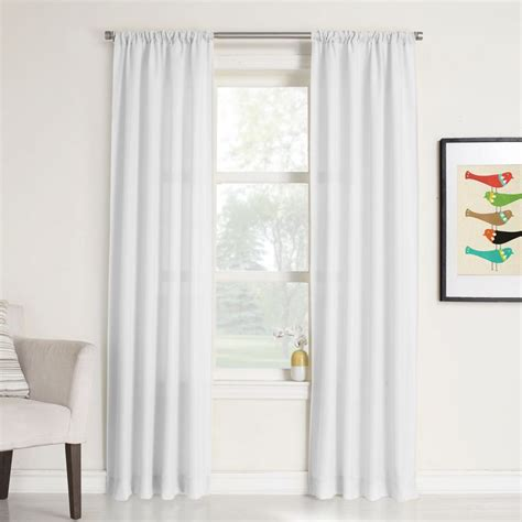 buy drapes online canada rapture tie up shade white 455649 canada discount