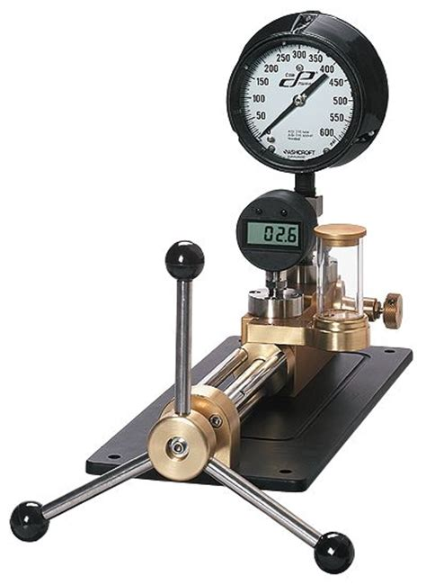 potable water pressure gauge portable pressure comparator without from cole