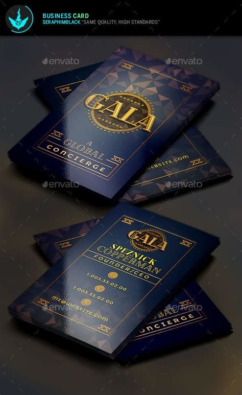 Deco Business Card Template by 1489 Best Print Templates Images On