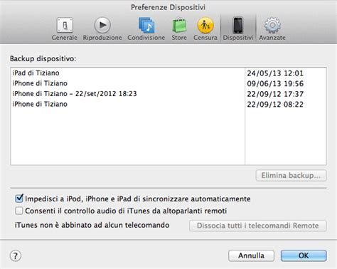backup libreria itunes come liberare spazio sul mac e trovare i file pi 249 ingombranti