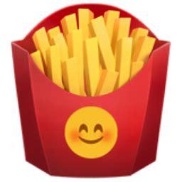 french fries emoji (u+1f35f)