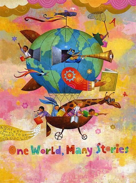 the book one world many stories el libro un mundo muchas historias ilustraci 243 n de rafael