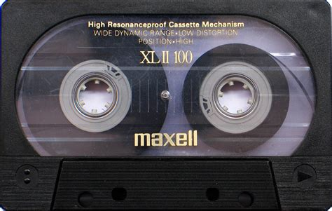 maxell cassette destroying visual perfection tapeheads audio and