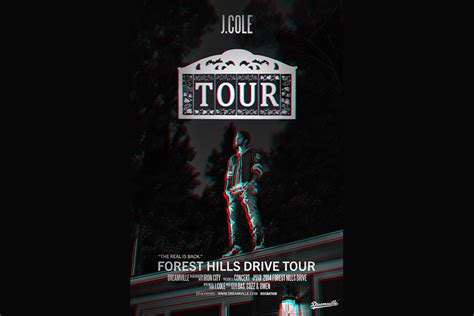 J Cole Calendar J Cole Forest Drive Tour Tickets Iron City