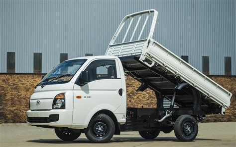 Versatile Hyundai H100 Tipper makes light work of a heavy