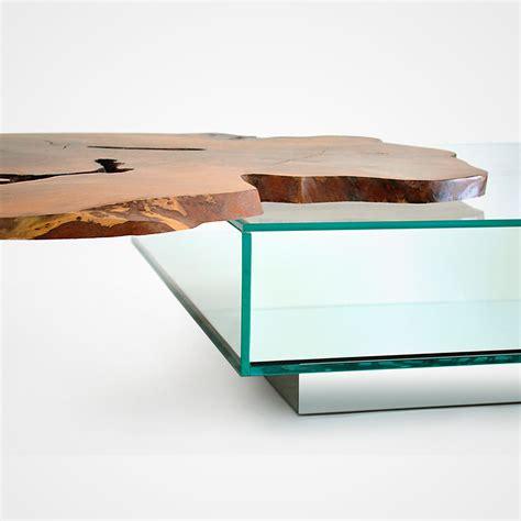 Glass Box Coffee Table Algarrobo Wood Glass Box Coffee Table 006 Rotsen Furniture