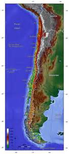 chile satelliten karte