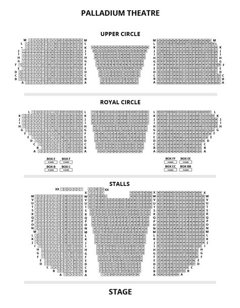 O2 London Floor Plan london palladium seating tips and seat reviews