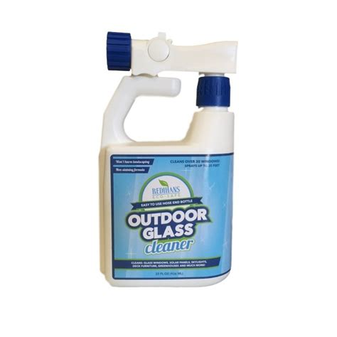outdoor glass cleaner  hose  bottle wash safe canada