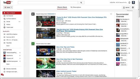 New Layout In Youtube | youtube new layout 2014 youtube