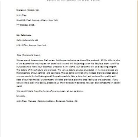 Official Letter Demo Formal Official And Professional Letter Templates