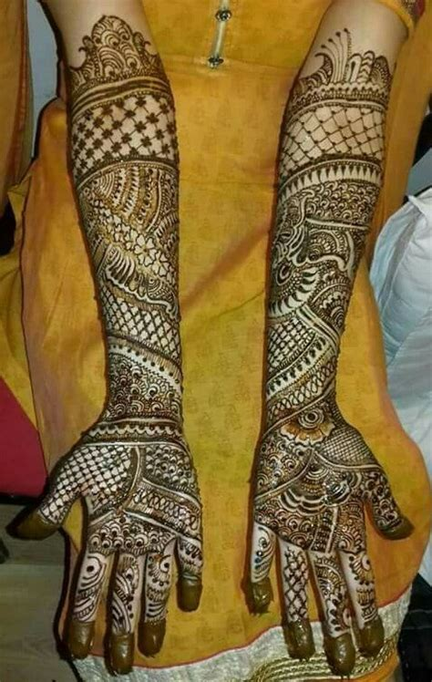 Simple Indian Bridal Mehndi