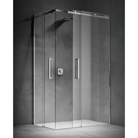 box doccia porta scorrevole treesse still box doccia con doppia porta scorrevole
