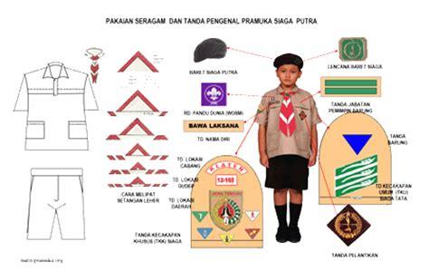 Atribut Baju Pramuka Putra seragam pramuka the knownledge