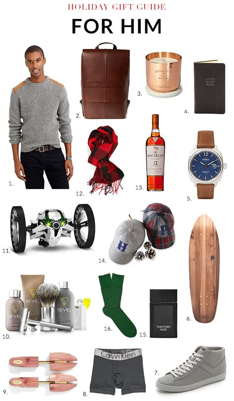 holiday gift guide 2014 for him sohautestyle com