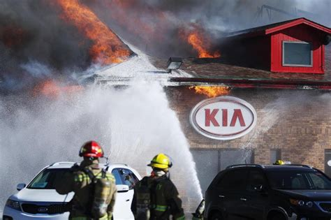 Billion Kia Rapid City Destroys Billion Kia Dealership Thursday Local