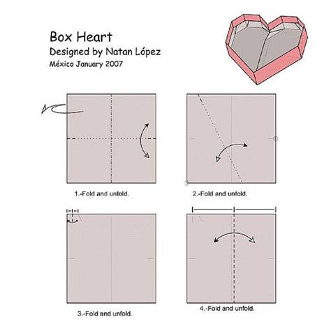 origami box pdf box diagram 1 last version diagram on pdf