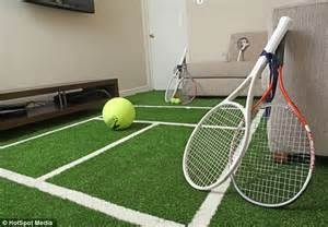 Bedroom Set King wimbledon 2013 tennis mad couple from derbyshire