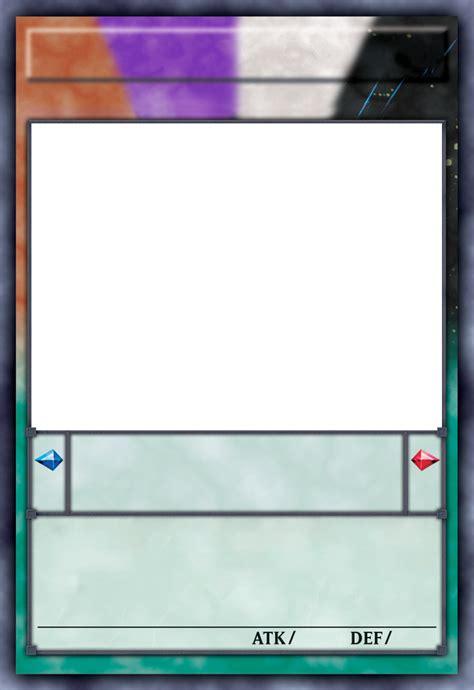 Yugioh Zarc Card Template supreme king zarc blank card anime yugioh by